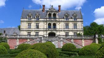 chateau de la bourdaisiere, города, замки франции, chateau, de, la, bourdaisiere