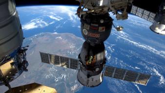 обои для рабочего стола 3840x2160 космос, космические корабли,  космические станции, мкс
