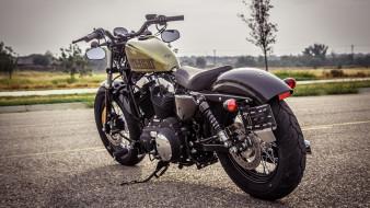 мотоциклы, harley-davidson, xl, 1200, sportster