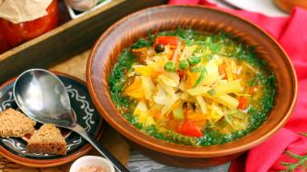еда, первые блюда, суп, овощной