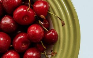 еда, вишня,  черешня, вишни