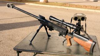 оружие, снайперская винтовка, pgm, hecate, ii, французская, крупнокалиберная, снайперская, винтовка