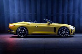 автомобили, bentley, бентли, желтый