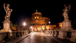 замок святого ангела, города, рим,  ватикан , италия, замок, святого, ангела