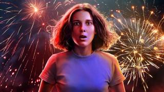 stranger things , 2016 - 2021, кино фильмы, сериал, очень, странные, дела, ужасы, фантастика, фэнтези, триллер, драма, детектив, милли, бобби, браун, eleven