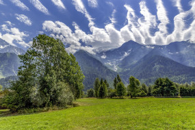 les houches, eastern france, природа, луга, les, houches, eastern, france