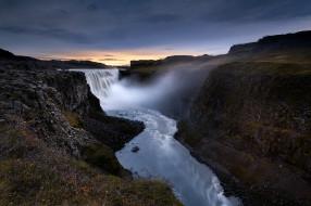 detifoss waterfall, iceland, природа, водопады, detifoss, waterfall