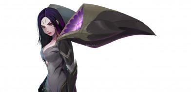 видео игры, league of legends, kaisa, девушка, крылья