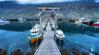 корабли, порты ,  причалы, исландия