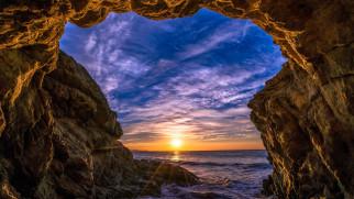 malibu beach, california, usa, природа, восходы, закаты, malibu, beach
