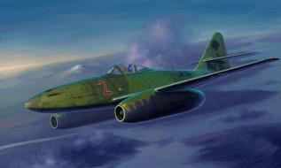 авиация, 3д, рисованые, v-graphic, немец