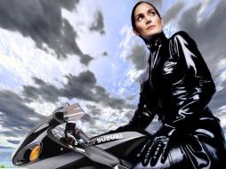 во, млин, мотоциклы, мото, девушкой