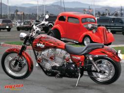 w3, мотоциклы, customs