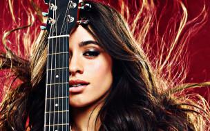 музыка, camila cabello, гитара
