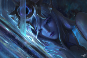 видео игры, league of legends, лицо, магия, космос, lux