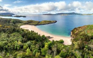sheephaven bay, donegal, ireland, природа, побережье, sheephaven, bay