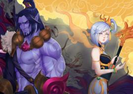 видео игры, league of legends, lux, sylas
