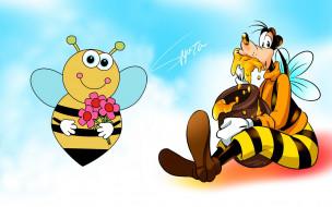 пчела, Гуфи, мед
