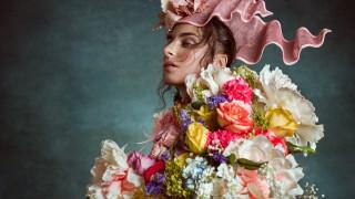 девушки, - креатив,  косплей, профиль, цветы, розы