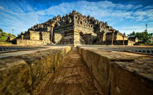 города, - буддийские и другие храмы, боробудур, буддизм, остров, ява, храмовый, комплекс, чанди, индонезия, азия, азиатские, достопримечательности