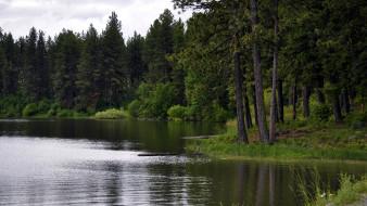 morgan lake, oregon, usa, природа, реки, озера, morgan, lake