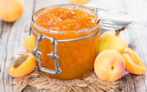 еда, мёд,  варенье,  повидло,  джем, джем, абрикосы