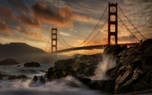 Golden Gate bridge обои для рабочего стола 2560x1600 golden gate bridge, города, сан-франциско , сша, golden, gate, bridge