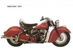 indian, chief, 1947, мотоциклы