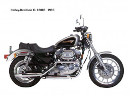 мотоциклы, harley, davidson