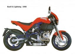 buell, s1, мотоциклы
