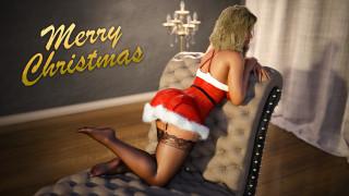 3д графика, праздники , holidays, девушка, фон, кресло