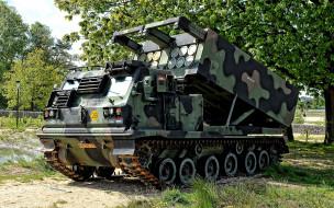 техника, военная техника, м270, рсзо, реактивная, установка, залпового, огня, agm137, tssam, королевская, армия, нидерландов