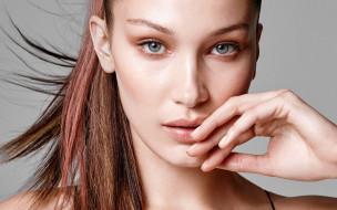 Bella Hadid, портрет, лицо, девушка, модель, красавица, стройная, сексуальная, поза, макияж, причёска, фигура, наряд, стильная, мода