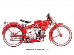moto, guzzi, standard, 500, ���������