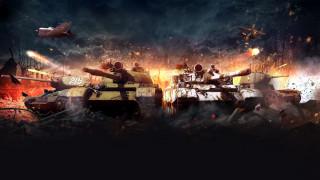 видео игры, world of tanks, танки, самолеты, разрушения