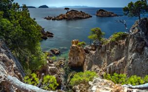 mediterranean sea, azure coast, france, природа, побережье, mediterranean, sea, azure, coast