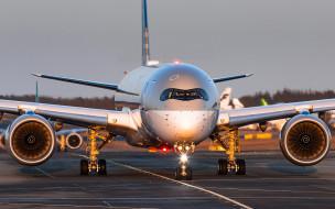airbus a350 xwb, авиация, пассажирские самолёты, airbus, a350, xwb, пассажирский, самолет, qatar, airways, авиалайнер, a350-1000, взлетно, посадочная, полоса