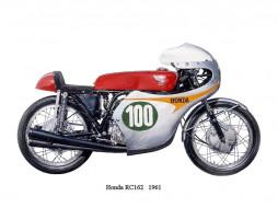 honda, rc, 162, мотоциклы