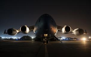 авиация, военно-транспортные самолёты, boeing, c17, globemaster, iii, ввс, сша, сс-177, военно-транспортные, самолеты
