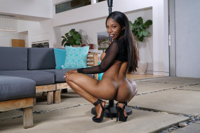Sarah Banks обои для рабочего стола 2560x1707 sarah banks, эротика, темнокожие, sarah, banks, девушка, чернокожая, темнокожая, актриса, макияж, взгляд, флирт, поза