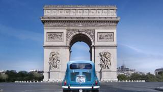 обои для рабочего стола 5120x2880 города, париж , франция, достопримечательности, париж, триумфальная, арка, памятник, туризм