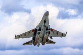 авиация, боевые самолёты, сухой, су35, ввс, россии, небо