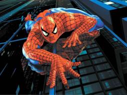видео игры, spider-man, человек-паук, здание, ракурс