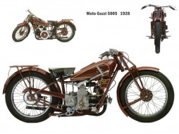 moto, guzzi, 500s, 1928, ���������