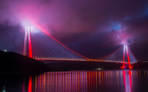 yavuz sultan selim bridge, города, стамбул , турция, yavuz, sultan, selim, bridge