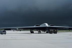 авиация, боевые самолёты, northrop, grumman, b-2, spirit, стелс, бомбардировщик, военные, самолеты, военная, база, ввс, сша