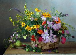 цветы, букеты,  композиции, композиция