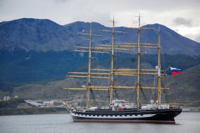 барк крузенштерн, корабли, парусники, барк, крузенштерн, корабль, парусник