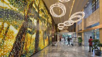 интерьер, кафе,  рестораны,  отели, мандарин, восточный, пудун, шанхай, лучшие, отели, 2015, года