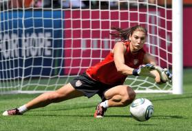 спорт, футбол, ворота, мяч, вратарь, девушка